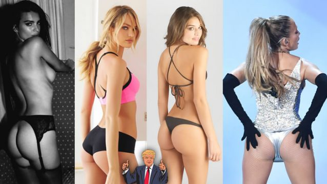 vote on the best celebrity ass