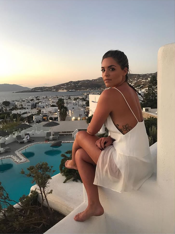 Olympia Valance in Greece